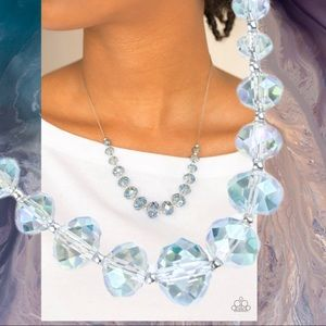 Crystal Carriages Iridescent Multi Necklace Set